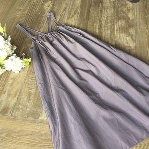GAP silk blend dress